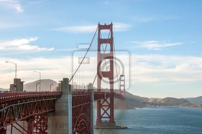 Wall mural San Francisco landmark - Golden Gate Bridge