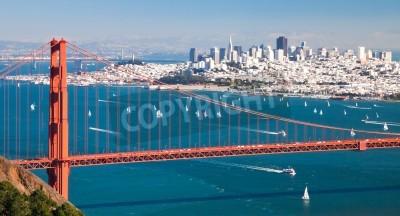 Wall mural San Francisco Panorama from San Francisco Bay