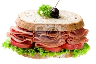 sandwich of mortadella