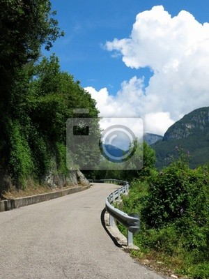 Scenic Highway Road Italy