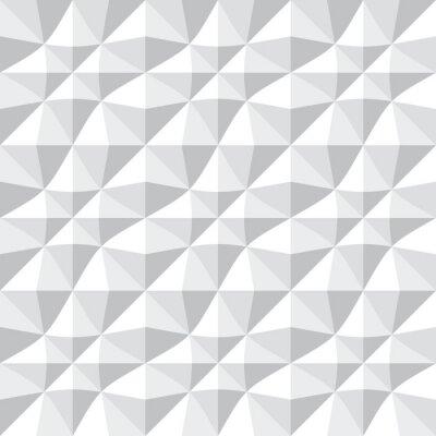 Wall mural Seamless 3d pattern.