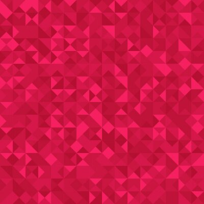 Wall mural Seamless Abstract pattern: monochrome dark pink background with holographic effect.