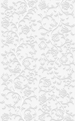 Wall mural Seamless floral pattern