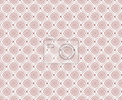 Wall mural Seamless geometric florals pattern background and modern stylish