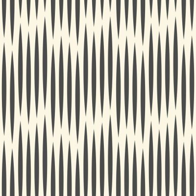 Wall mural Seamless Vertical Line Pattern. Vector Monochrome Luxury Background. Geometric Striped Ornament