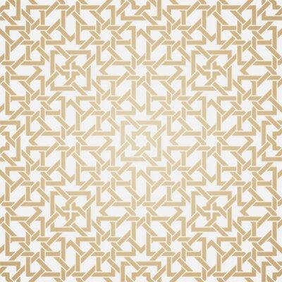 Wall mural Seamless weave pattern in oriental style
