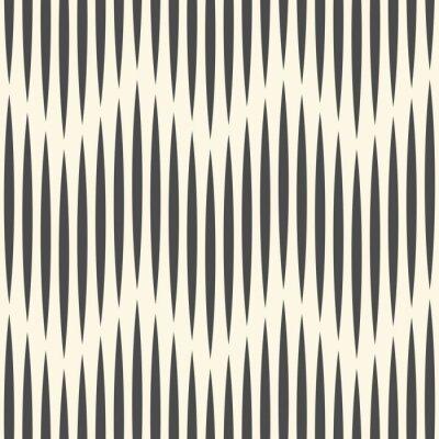 Wall mural Seamless Zig Zag Background. Minimal Stripe Design