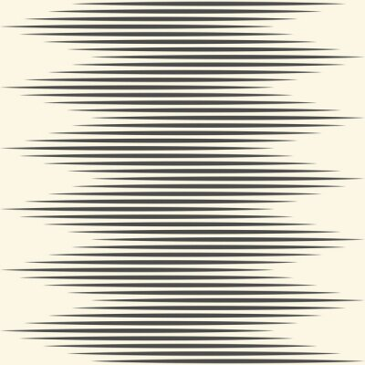 Wall mural Seamless Zig Zag Pattern. Abstract Stripe Texture