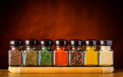 Wall mural Seeds and Spices