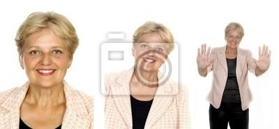 senior woman set