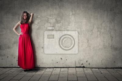 Sensual girl posing