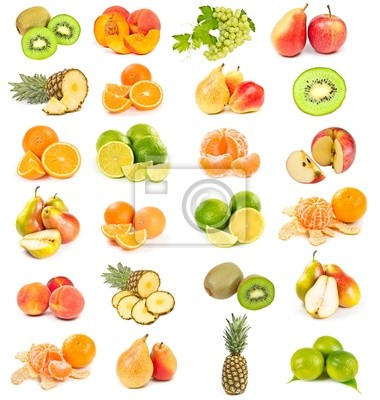 Wall mural Set of fruits