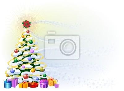Sfondo Albero di Natale-Christmas Tree Background