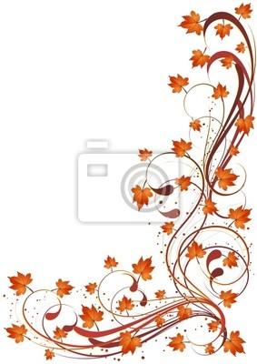 Sfondo Foglie Autunno-Autumn Leaves Background-3-Vector