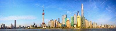 Wall mural Shanghai skyline panorama, China