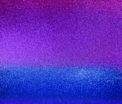 Wall mural Shiny blue and purple glitter texture background stock images. Texture of blue purple glitter shiny background. Abstract blue pink shiny background with copy space for text