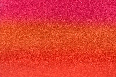 Wall mural Shiny orange and pink glitter texture background stock images. Texture of pink orange glitter shiny background. Abstract pink-orange color shiny background with copy space for text