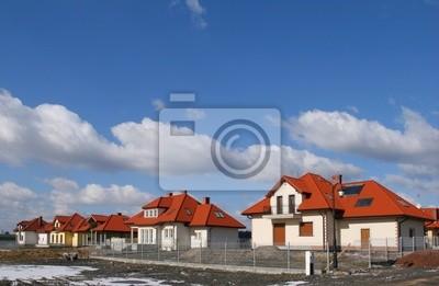Single family housing development. Residential area