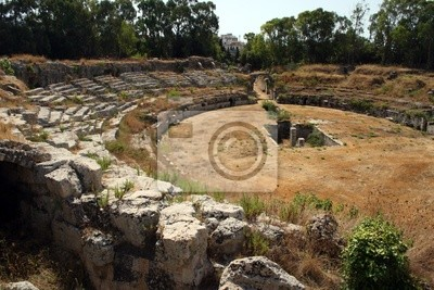 Siracusa-Ancient amphitheater