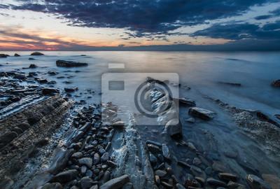 skalista plaża morska