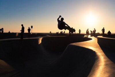 Wall mural Skateboarding