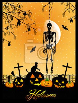 Skeleton of Halloween