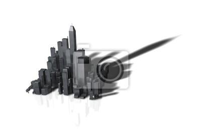 skyline 3d