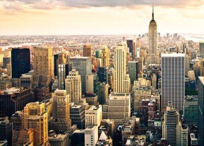 Wall mural Skyline New York von