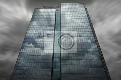 Wall mural skyscraper