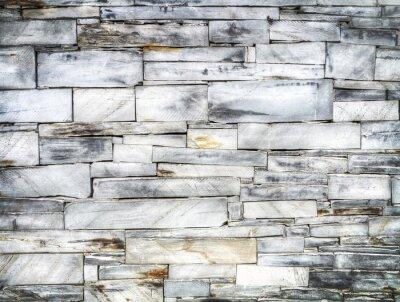 Wall mural slate brick wall