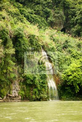 Small waterfall at Li river china