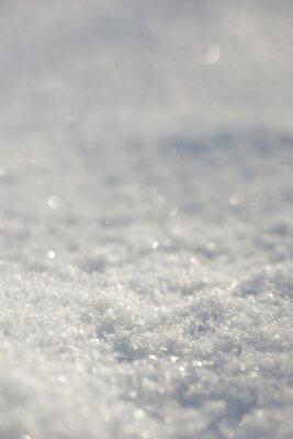 Snow close up.