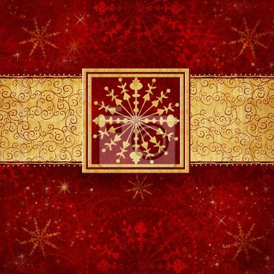 Snowflake.Christmas greeting card.