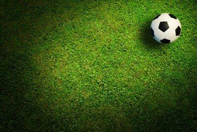 Wall mural Soccer ball football sport