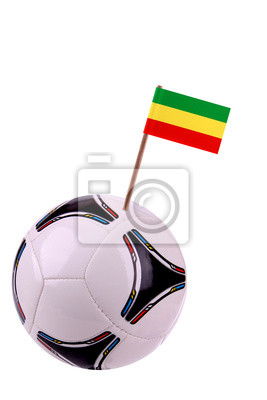 Soccerball or football in Ethiopia