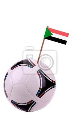 Soccerball or football in Sudan