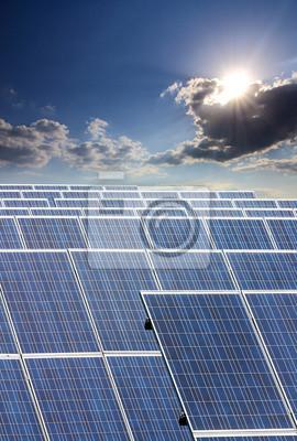 Wall mural solar collector