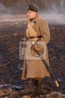 Soldier 1918. reenacting russian Civil War