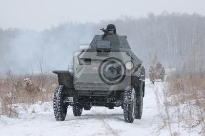 Soviet armored truck of WW2