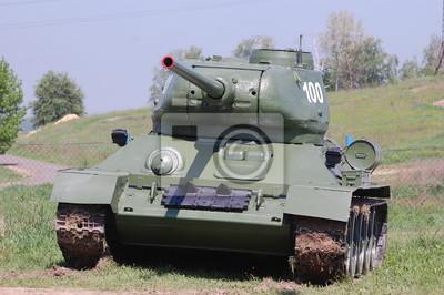 Soviet tank. WWII