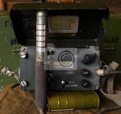 Soviet vintage military geiger counter
