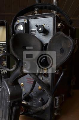 Soviet vintage military radio