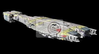 Wall mural Spaceship