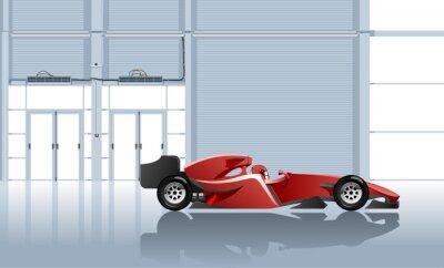 Wall mural sport car