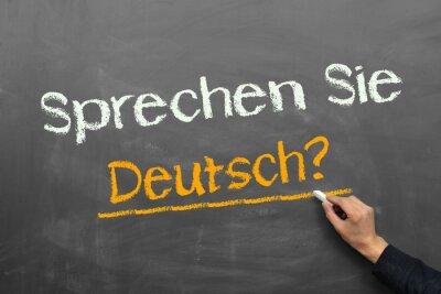 Wall mural Sprechen Sie Deutsch?