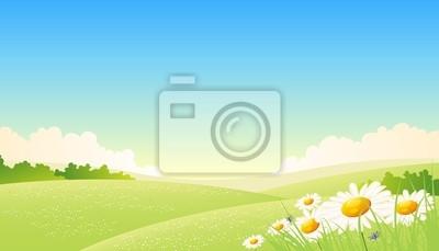 Spring Or Summer Seasons Poster