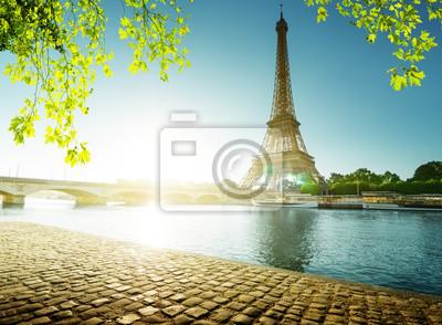 spring time in Paris, Eiffel tower