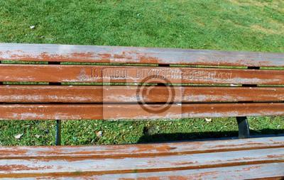 Stambuł ławka złoty róg
