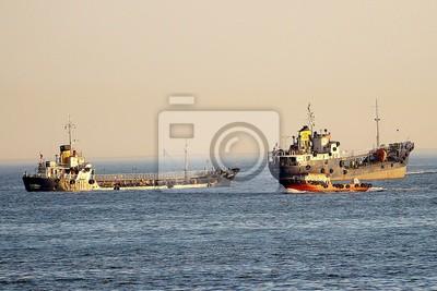 Stambuł Turcja złoty róg statki 3