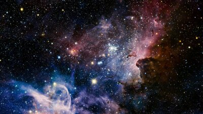 Wall mural Stars nebula in space. Elements of this image furnished by NASA